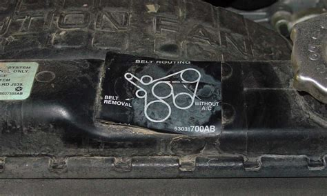 Serpentine Belt Tension Jeepforum