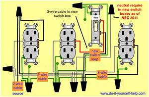 Wiring An Outlet With A Switch