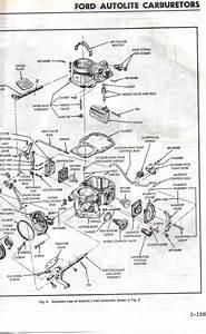 Ford 1100 Carburetor Part Diagram