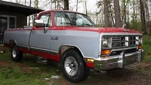 1990 Dodge D150 Base Standard Cab Pickup 2