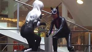 Défilé Glénat ; EPIC 2013 - Catwoman Cosplay - YouTube