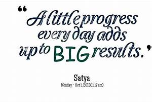 PROGRESS QUOTES... Importance Of Progress Quotes
