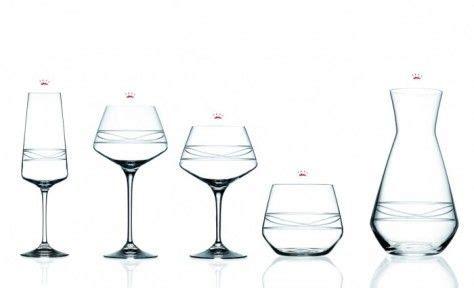 bicchieri cristallo prezzi rcr da vinci infinito servizio set in cristallo