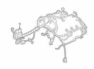 Buick Lacrosse Engine Wiring Harness  3 6 Liter  W  O Awd