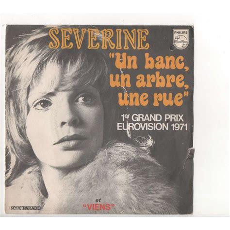 Un Banc, Un Arbre, Un Rue  Viens De Severine, 45t X 2 (ep