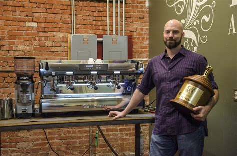 Joey johnston drinks coffee with a straw. Competing with coffee | The Campus Ledger