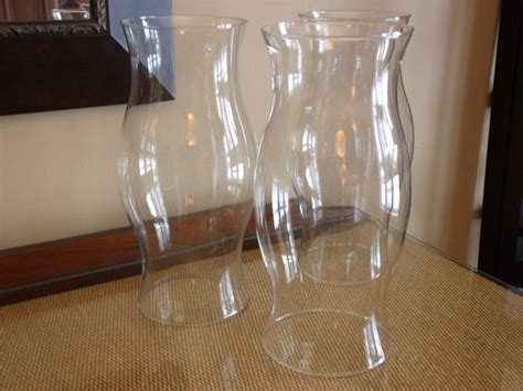 large hurricane ls for candles set of 3 extra large glass hurricane candle covers wedding