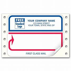 first class red and blue labels 1231 at print ez With first class mail label