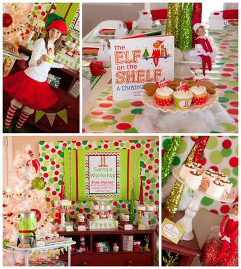 kara s party ideas santa s little helpers christmas party