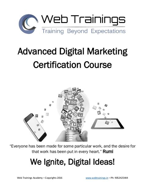 Digital Marketing Qualifications by Digital Marketing Syllabus