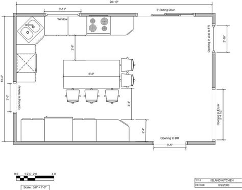 kitchen floor plan dimensions the best way to lay out a kitchen 4796