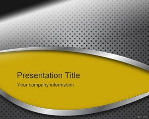 metal powerpoint templates