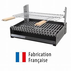 Grille Barbecue 60 X 40 : d couvrez le brasero grilloir somagic en fonte int grer ~ Dailycaller-alerts.com Idées de Décoration