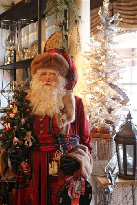 life size santa romancing the home country decorating