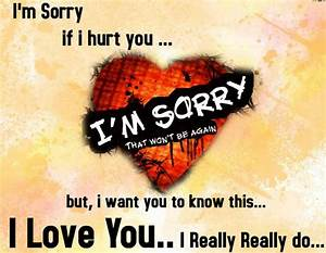 Sorry Quotes, I Am Sorry Messages Status For Friend ...
