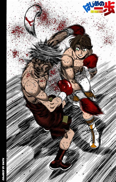 Knockout Anime Wallpaper - hajime no ippo ch517 pg 12 by devilsmithy on deviantart