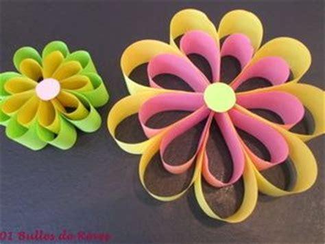fleur en papier facile fabriquer des fleurs en papier maternelle