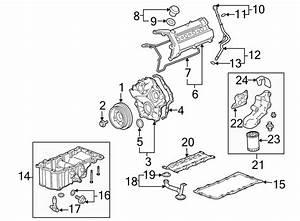 Cadillac Srx Engine Oil Pump Pickup Tube Gasket  Engine