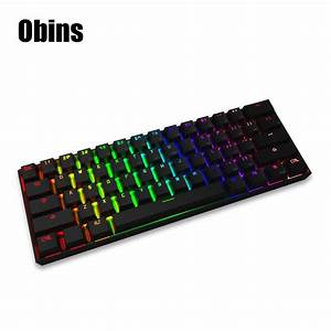 Original Obins Anne Pro Wired Mechanical Keyboard with RGB ...