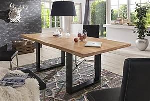 Esstisch Baumkante Ausziehbar : esstisch nussbaum edelstahl com forafrica ~ Watch28wear.com Haus und Dekorationen