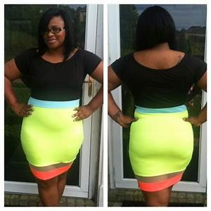 Neon Color block Dress on Storenvy