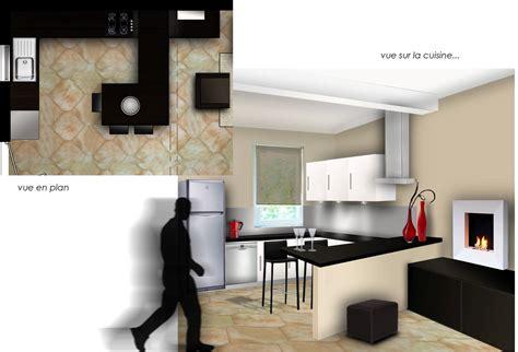 deco salon et cuisine ouverte decoration salon cuisine ouverte dcoration intrieure