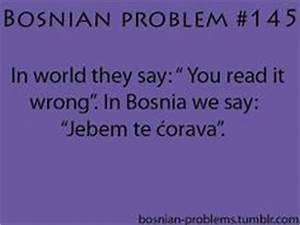 78 Best Bosnian... Serbo Croatian Quotes