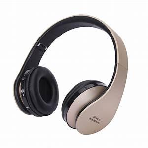 Kabellose Bluetooth Kopfhörer : kabellose kopfh rer faltbar headset bluetooth stereo ~ Kayakingforconservation.com Haus und Dekorationen