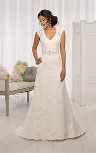 wedding dresses with sleeves cap sleeve wedding dresses With capped sleeve wedding dress