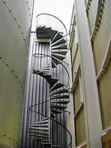 Escalier Métallique Industriel : escalier h lico dal industriel grandes hauteurs ehi escalier h lico dal industriel ~ Melissatoandfro.com Idées de Décoration