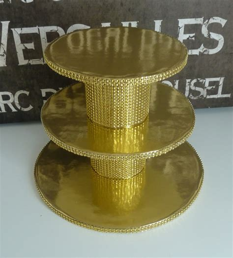 gold cupcake stand gold wedding cake stand 3 tier gold