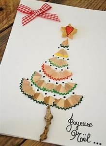 Pinterest Sapin De Noel : carte de voeux maison 15 id es faciles pour les enfants ~ Preciouscoupons.com Idées de Décoration