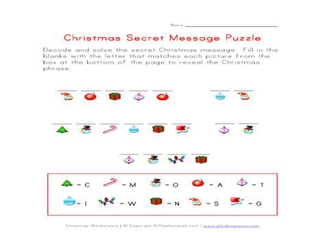 secret message worksheets worksheets for all