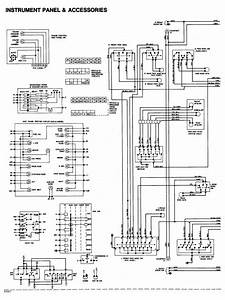 Instrument Panel And Accessories Wiring Diagram Of 1984