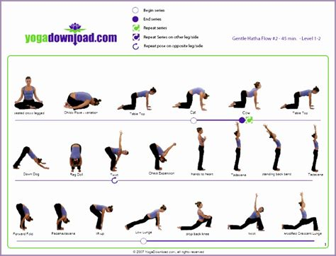 yoga poses chart  names archives work  picture