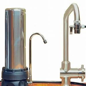 Filtre à Eau Pour Robinet : filtre inox sur vier avec une cartouche xm emx ~ Premium-room.com Idées de Décoration