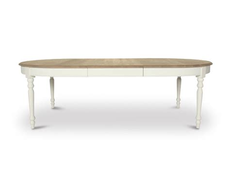 table de salle a manger ovale avec rallonge table ovale avec rallonge table de lit