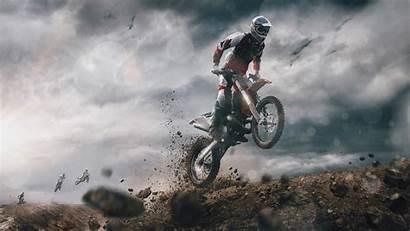 4k Motocross Motorcycle Wallpapers 3d 1280 2160