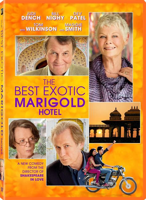 The Best Exotic Marigold Hotel Dvd Release Date September