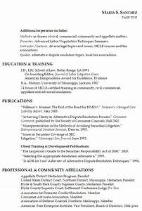 lawyer resume litigation mediation teaching susan With lawyer resume template