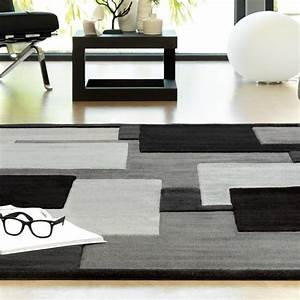 Tapis design gris reflective par arte espina for Tapis gris design