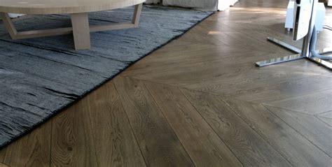 wooden kitchen floors chevron parquet oak timber flooring 1170