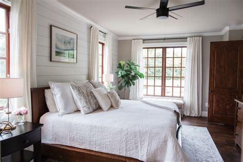 white grey master bedroom reveal  southern style guide