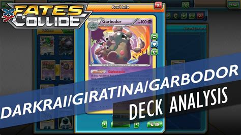 Giratina Ex Deck 2016 by Darkrai Ex Giratina Ex Garbodor Deck Profile Xy Fates