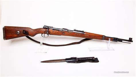 Mauser K98 1944 Nazi Military Rifle W Bayone For Sale