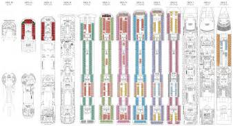 pin deck plan msc splendida from 24052013 on pinterest