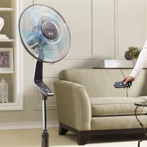 Rowenta VU5551 Turbo Silence Oscillating 16 Inch Stand Fan