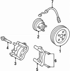 1998 Chevrolet Lumina Caliper  Bolt  Disc  Brake    Screw