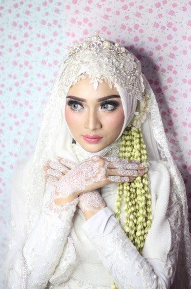 koleksi model hijab pengantin terlengkap  fashion