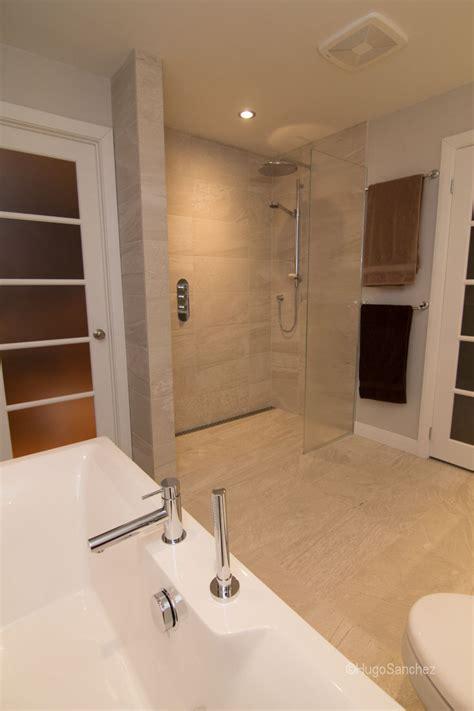 curbless shower designs ceramiques hugo sanchez